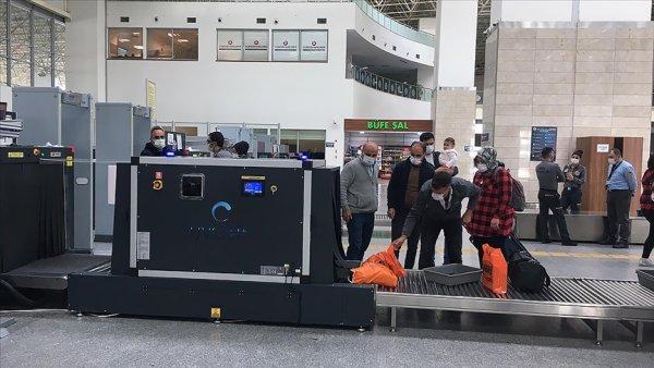Türkiye deki havalimanlarında UV ışınlı hijyen dönemi