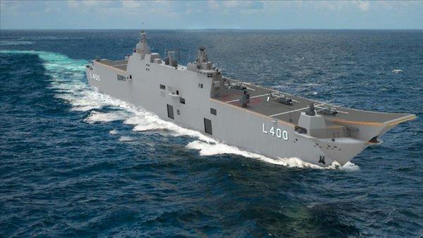 TCG Anadolu Türkiye nin denizdeki hareket yeteneğini artıracak