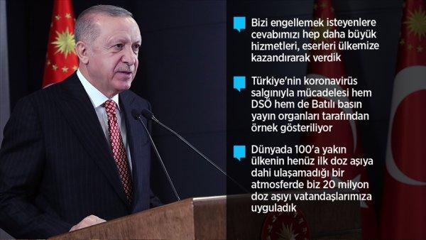 """""""2021 senesini ülkemiz ve milletimiz için bir şahlanış yılına dönüştüreceğiz"""""""