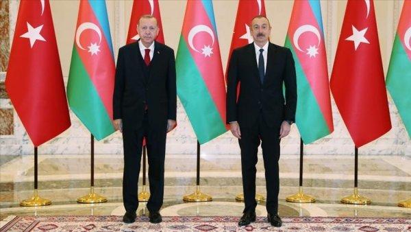 Turkish Azerbaijani leaders exchange views on latest developments