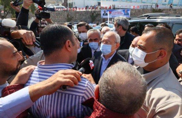 Kılıçdaroğlu na İzmir de vatandaştan tepki