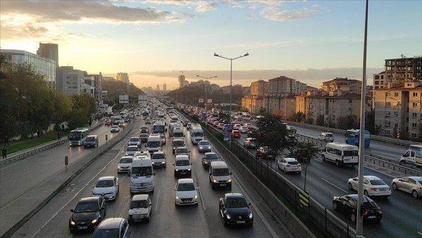 İstanbul da trafik yoğunluğu
