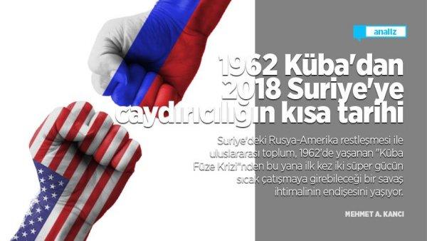 1962 Küba dan 2018 Suriye ye caydırıcılığın kısa tarihi