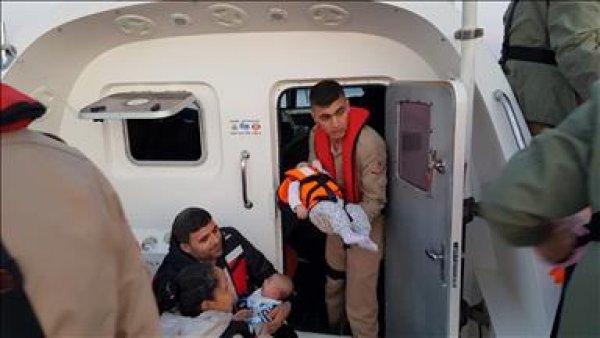 213 kaçak göçmen yakalandı