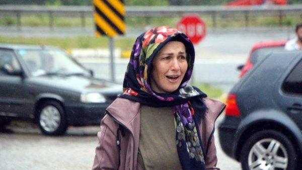 21 yüzyılda bile sel felaketi D 100 ün Ankara yönü trafiğe kapandı