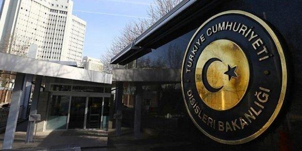ABD Büyükelçiliği Müsteşarı Dışişleri ne çağrıldı