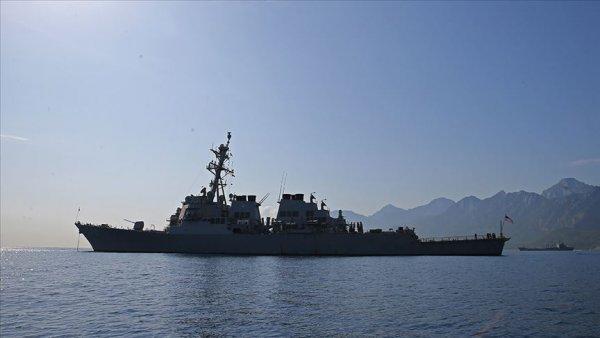 ABD destroyerinden Güney Çin Denizi nde tartışma yaratacak geçiş