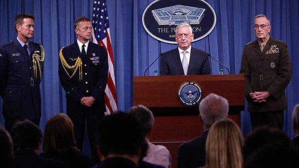 ABD Genelkurmay Başkanı Dunford: Suriye ye ilk dalga saldırı sona erdi