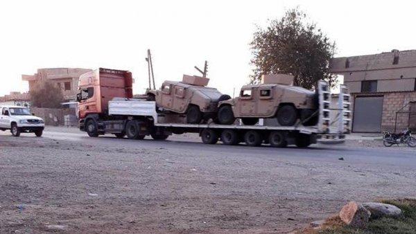 ABD Suriye den çekilmeye başladı