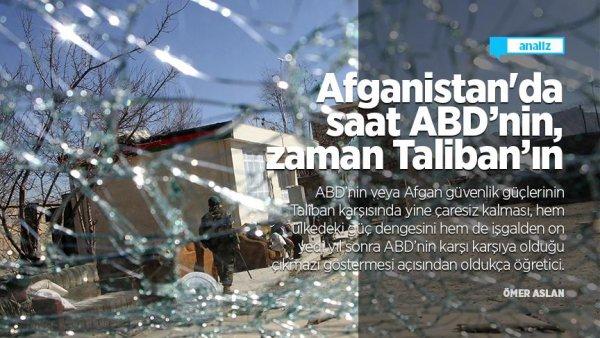 Afganistan da saat ABD nin zaman Taliban ın