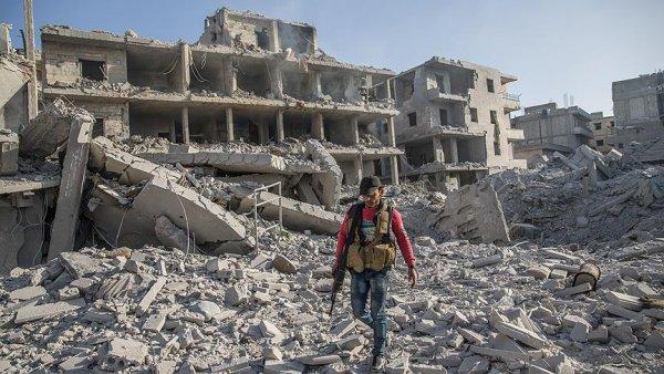 Afrin de teröristlerin bomba tuzakladığı binada patlama: 11 ölü