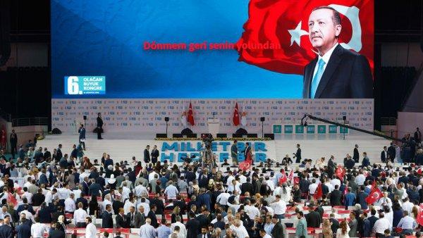 AK Parti 6 Olağan Büyük Kongresi başladı