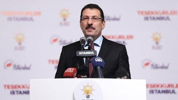 AK Parti den İstanbul seçimlerinde usulsüzlük soruşturmasıyla ilgili açıklama