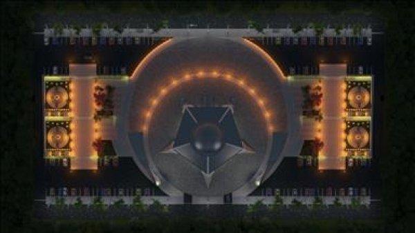Ay yıldız şeklindeki cami