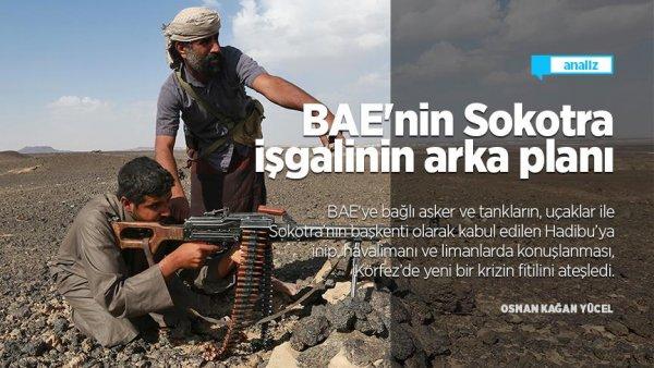 BAE nin Sokotra işgalinin arka planı
