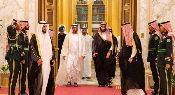 BAE Veliaht Prensinden Riyad a ziyaret