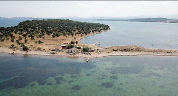 Balıkesir de 105 milyon liraya satılık ada