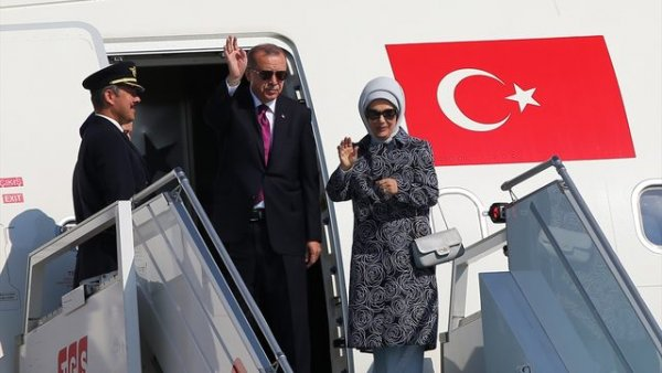 Başkan Erdoğan ilklerin zirvesine gidiyor