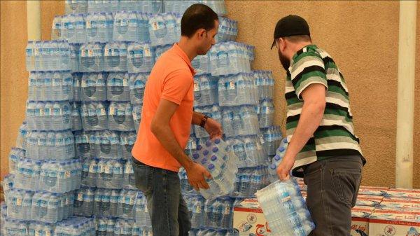 Basra da içme suyundan zehirlenenlerin sayısı 80 bine yükseldi