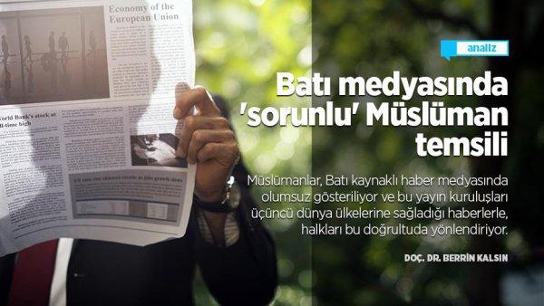 Batı medyasında sorunlu Müslüman temsili