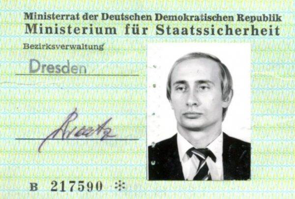 Bu kimlik Putin in casusluk yaptığı anlamına gelmiyor muş
