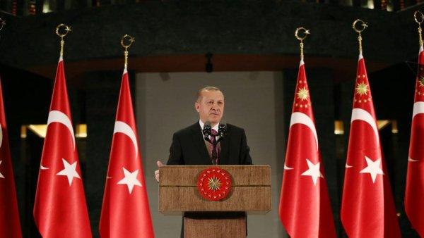 Cumhurbaşkanı Erdoğan dan bayrak provokatörüne sert tepki