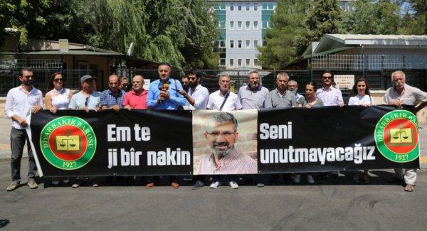 Diyarbakır Barosu töreni reddetti