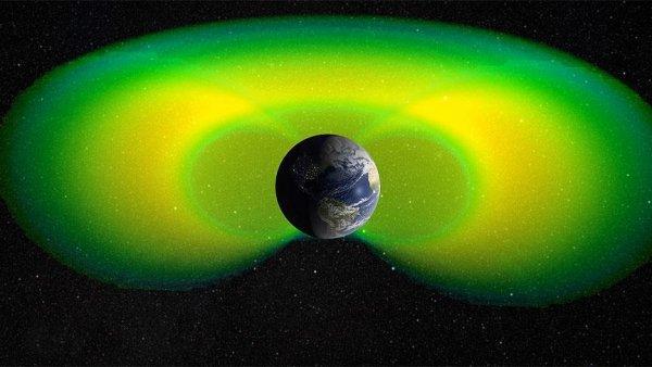 Dünya yı çevreleyen iç radyasyon kuşağı düşünülenden daha zayıf