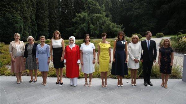 Emine Erdoğan Brüksel de