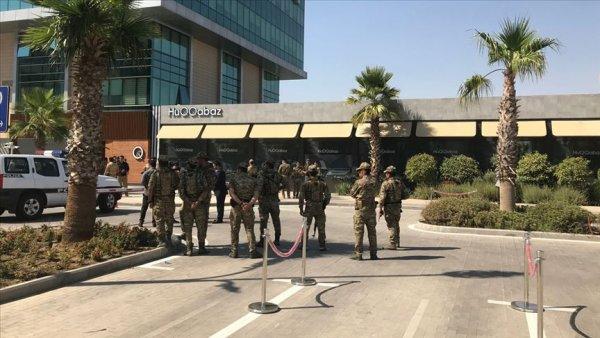 Erbil de Türk diplomatların olduğu restorana saldırı