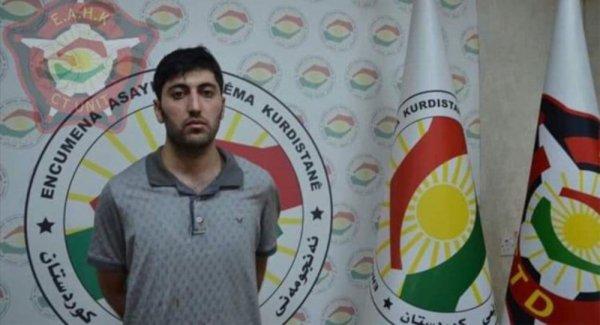 Erbil deki saldırıyı düzenleyen zanlılardan Mazlum Dağ yakalandı