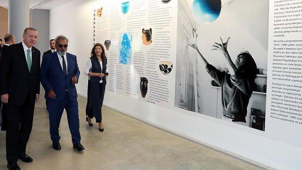Erdoğan Baksı Müzesi ni ziyaret etti