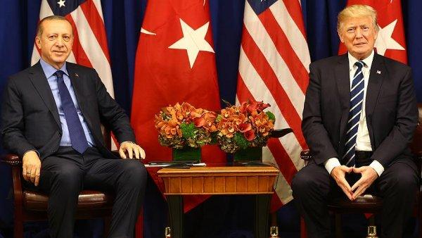 Erdoğan ile Trump Suriye yi görüştü