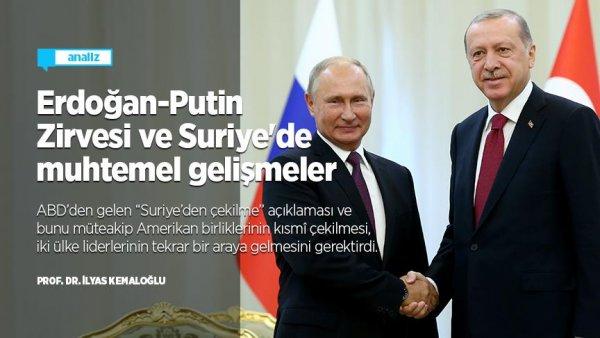 Erdoğan-Putin Zirvesi ve Suriye'de muhtemel gelişmeler