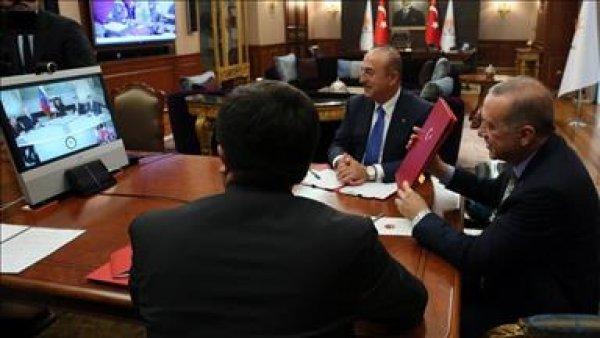 Erdoğan ve Maduro telekonferans