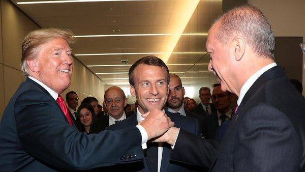Erdoğan ve Trump tan samimi poz