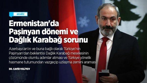 Ermenistan'da Paşinyan dönemi ve Dağlık Karabağ sorunu