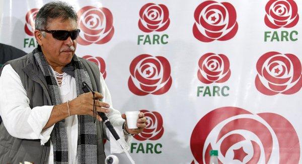 FARC lideri cezaevi çıkışı yeniden gözaltında