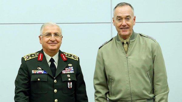 Genelkurmay Başkanı Güler ile ABD li mevkidaşı Dunford bir araya geldi