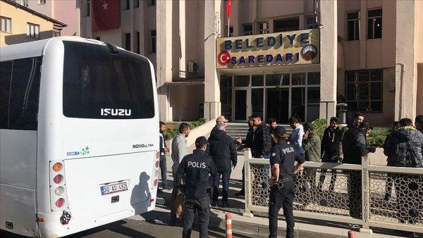 HDP li 4 belediye başkanı gözaltına alındı