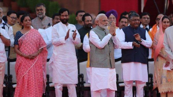 Hindistan da ikinci Modi dönemi