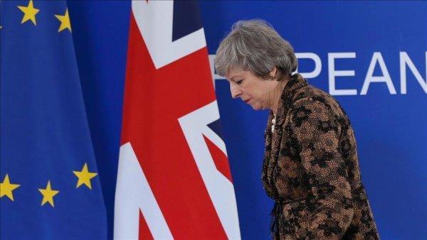İngiliz parlamentosu May in Brexit anlaşmasını reddetti