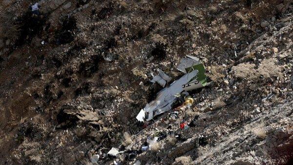 İran da düşen özel Türk uçağında ölen 8 kişinin cenazelerine ulaşıldı