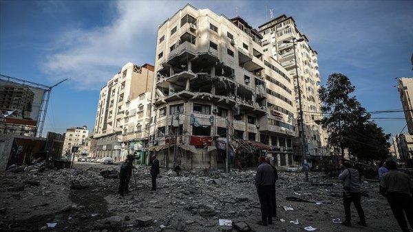 İsrail in Gazze ye saldırılarında şehit sayısı 17 ye yükseldi