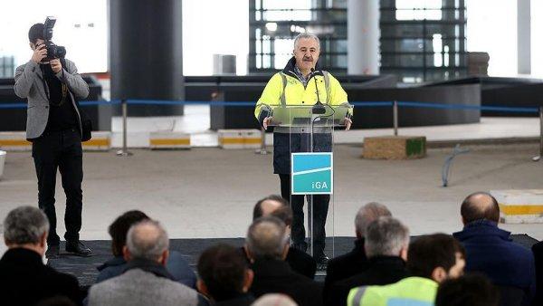 İstanbul Yeni Havalimanı nın yüzde 80 i tamamlandı
