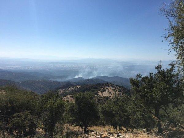 İzmir in ciğerleri yanmaya devam ediyor