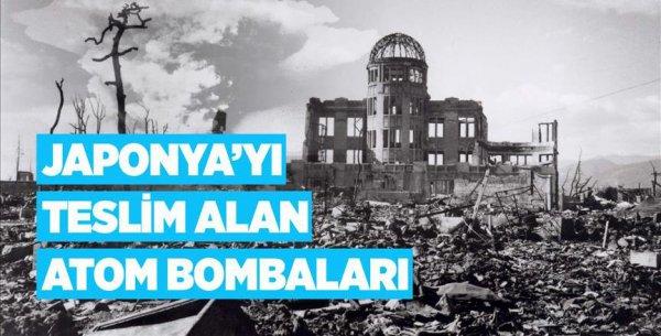 Japonya yı teslim alan atom bombaları