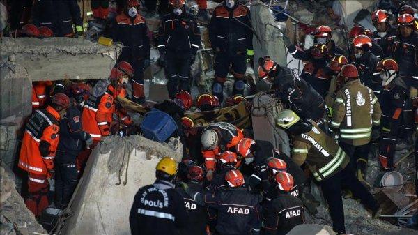 Kartal da bina çökmesi sonucu ölenlerin sayısı 21 e yükseldi