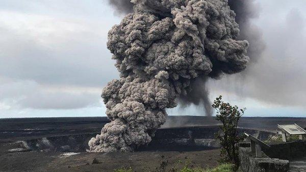 Kilauea Yanardağı nda yeni bir patlama