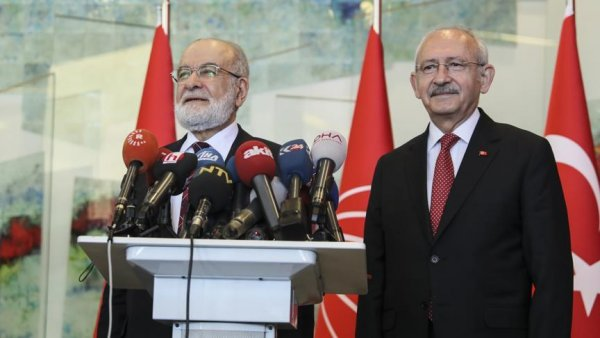 Kılıçdaroğlu ile Karamollaoğlu görüştü